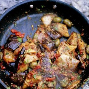 Incredible Sicilian aubergine stew (Caponata)