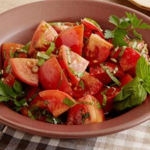 Marinated Tomato Salad with Herbs