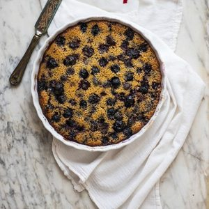 Cherry and Vanilla Bean Clafoutis