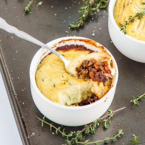 Cauliflower Vegan Shepherds Pie