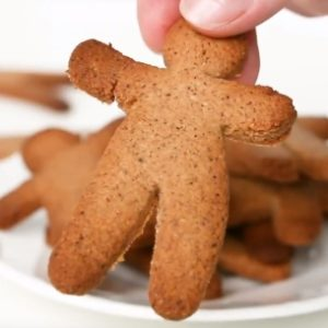Gingerbread Cookies (Low Carb, Paleo,Sugar-Free )